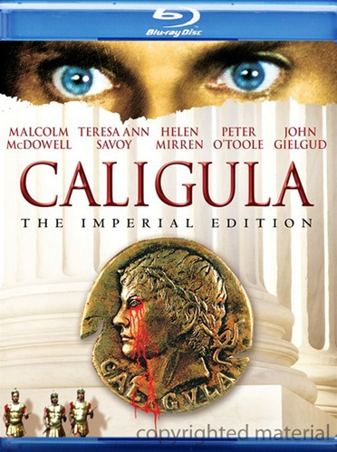 caligula. original y sellado (2 discos)