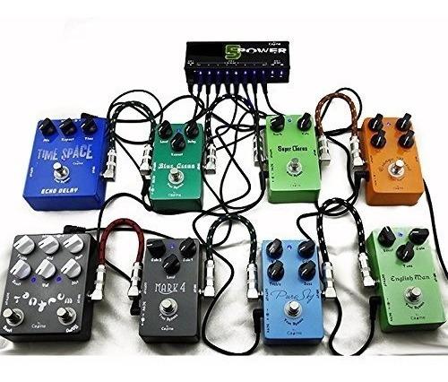caline cp-05 fuente de poder para pedales de efecto