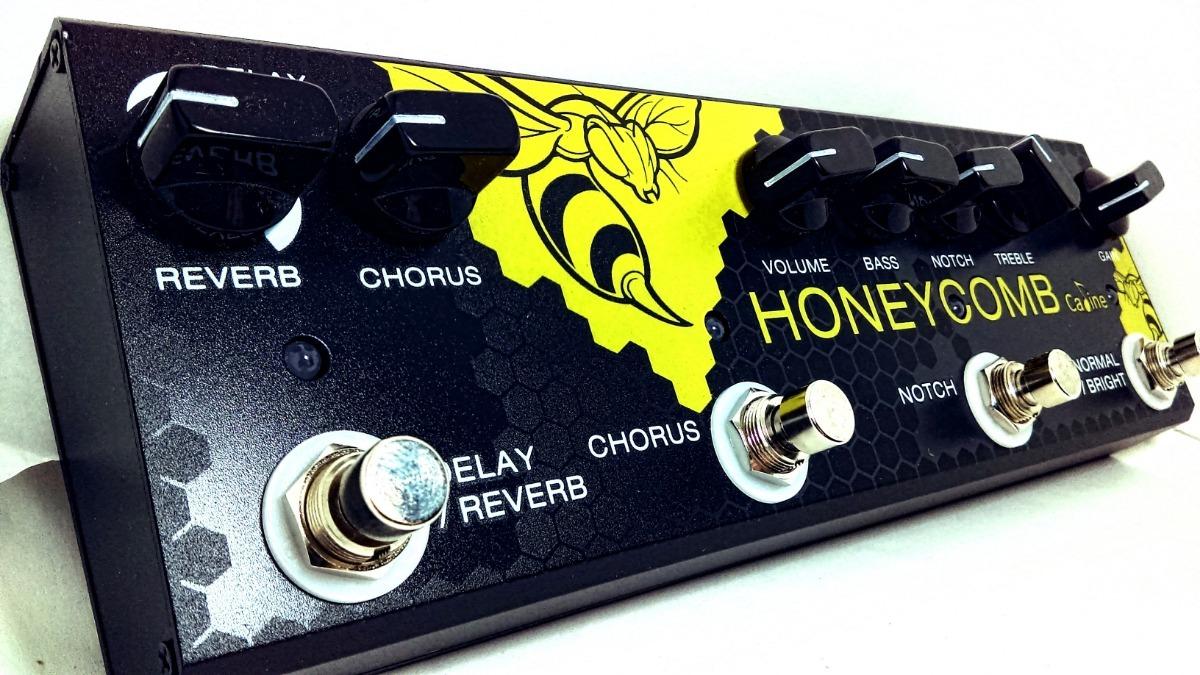 Caline Cp-48 Honeycomb Chorus Delay Reverb Guitarra Acustica ...