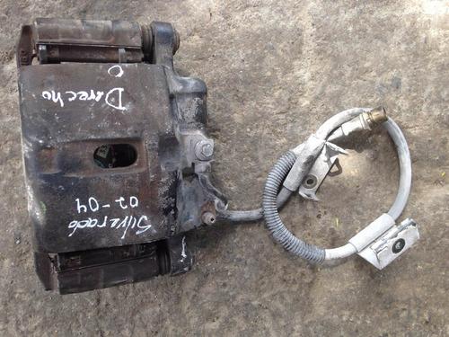 caliper freno chevrolet silverado 02-04 usado original r