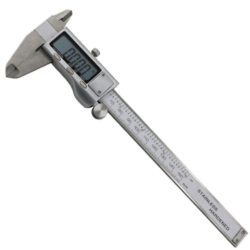 caliper vernier pie de metro 0 a 150 mm acero inoxidable