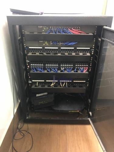 call center com 30 posições, com armários e arquivo. - sa0006