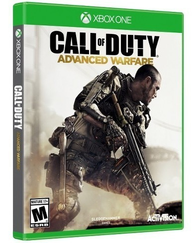 call duty advance warfare xbox one juego fisico caja cambio
