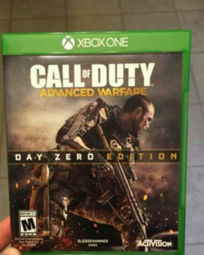 call duty advance xbox one