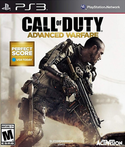 call duty advanced warfare juego ps3