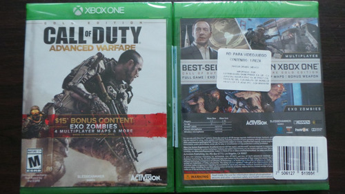 call duty advanced warfare xbox one