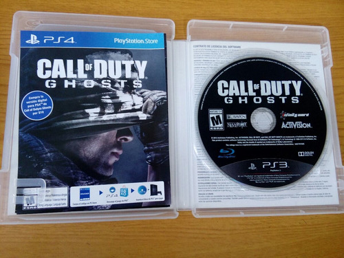 call duty ghost ps3