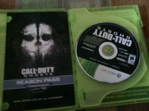 call duty ghost xbox 360