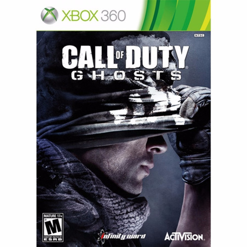 call duty ghost xbox 360 juego