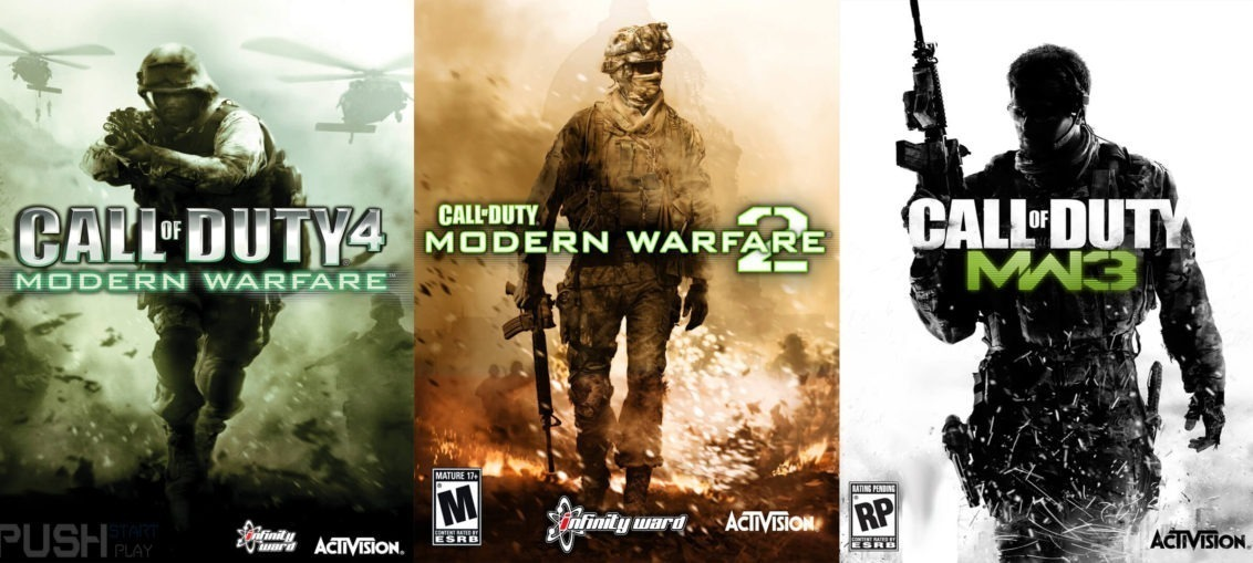 Call Of Duty Modern Warfare 1 + 2 + 3 ~ Ps3 Digital Español