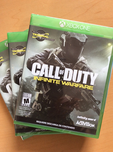 call duty warfare xbox one.
