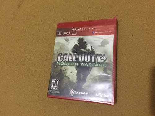 call of duty 4 sellado para ps3