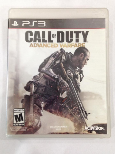 call of duty advance warefare ps3
