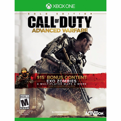 call of duty advanced warfare gold edition xbox one nuevo
