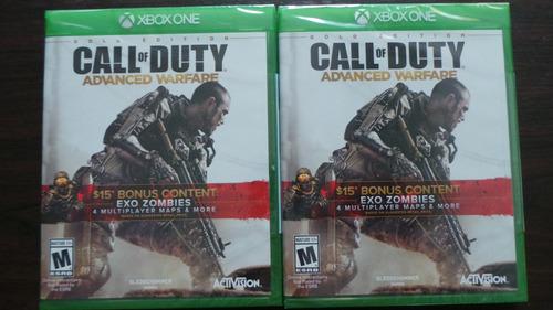 call of duty advanced warfare gold edition xbox one sellado