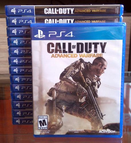 call of duty advanced warfare - juegos ps4 - sellado
