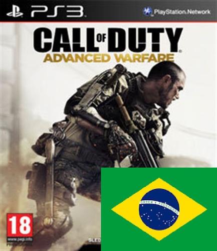 call of duty advanced warfare pt br ps3 psn midia digital