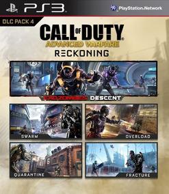 Call Of Duty Advanced Warfare Reckoning (solo Dlc) Ps3