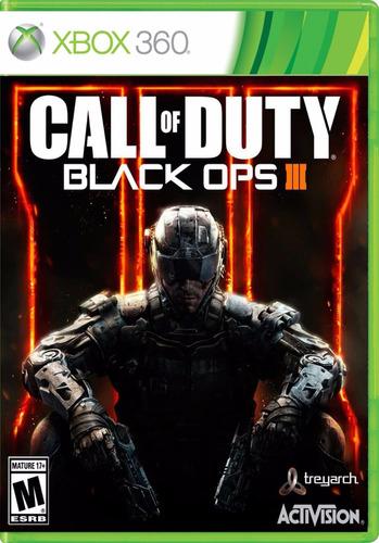 call of duty black ops 1, 3 xbox 360 one envio inmediato