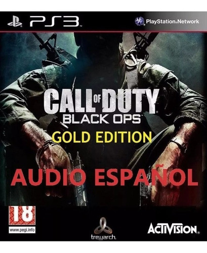 call of duty black ops 1 ps3 gold edition