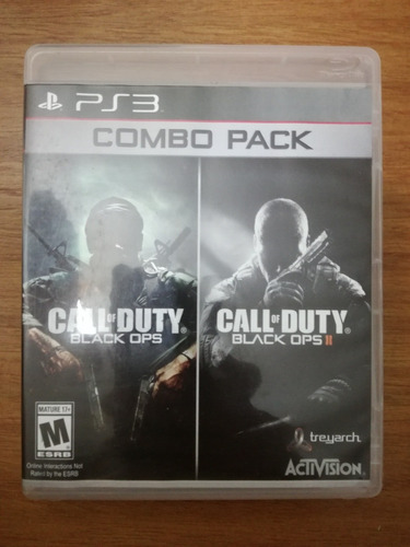 call of duty black ops 1 y 2 combo pack ps3 + envio gratis