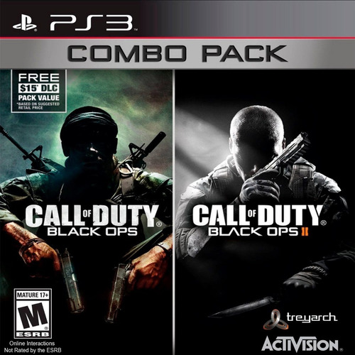 call of duty: black ops 1 y 2 combo pack ps3 fisico env grat