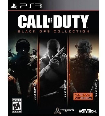call of duty: black ops 1,2 y 3 pack ps3 nuevo envio gratis