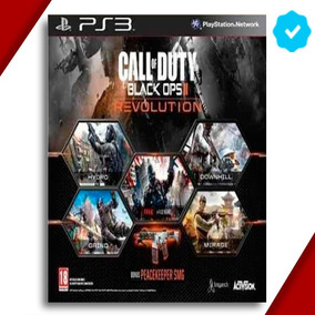 Call Of Duty Black Ops 2 Dlc Revolution Ps3 Playstation 3