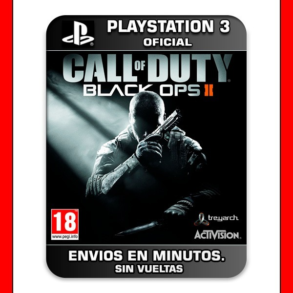 Call Of Duty Black Ops 2 Ps3 + Revolution Map Pack 30% Off - $ 195 Call Of Duty Revolution Map Pack on