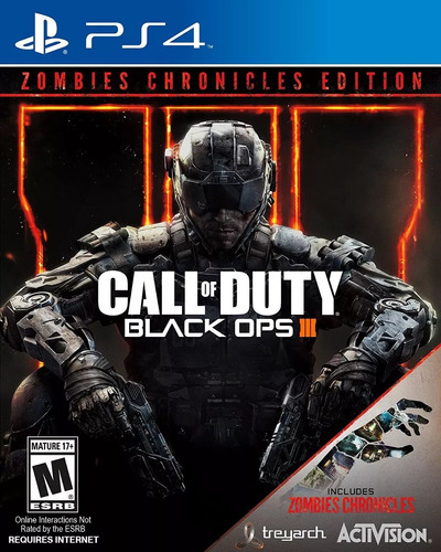 call of duty black ops 3 edicion zombies chronicles ps4