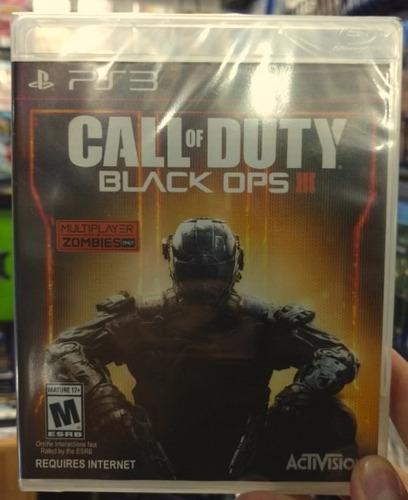 call of duty black ops 3 ps3 nuevo sellado garantia