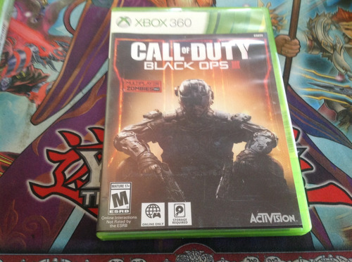 call of duty black ops 3.  xbox 360
