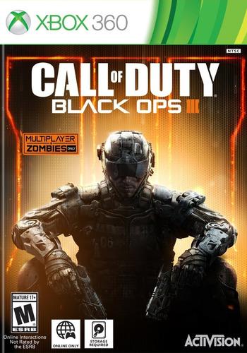 call of duty black ops 3 xbox 360 acepto cambios gxa