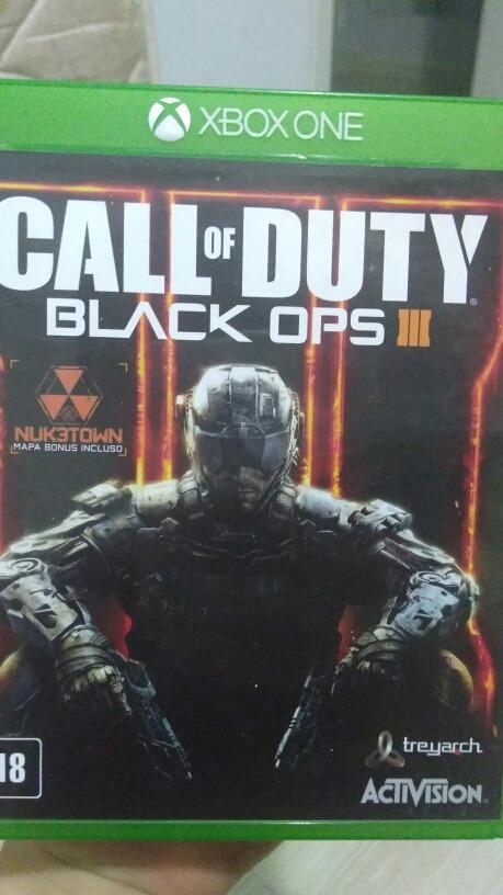 Call Of Duty Black Ops 3 Xbox One Em Midia Fisica R 100 00 Em