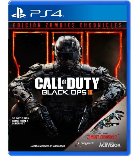 call of duty black ops 3 zombies chronicles ps4 disco nuevo