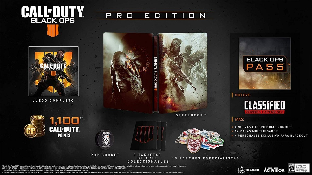 Call Of Duty Black Ops 4 Pro Edition Xbox One 779 00 En