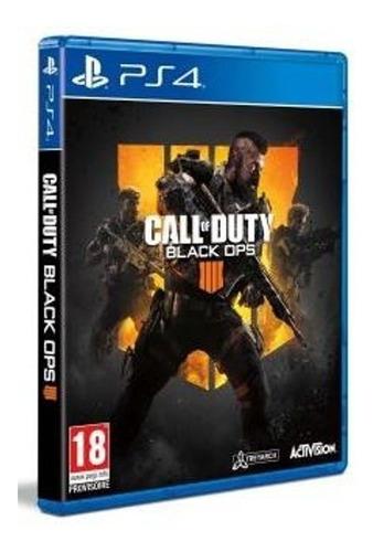 call of duty black ops 4 ps4 - fisico - nuevo - lanzamiento