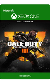 Call Of Duty Black Ops 4 Xbox One Cod 4 Código 25 Dígitos