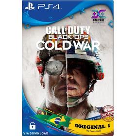 Call Of Duty Black Ops Cold War Ps4 Psn Cod 1 Pt-br Env Já