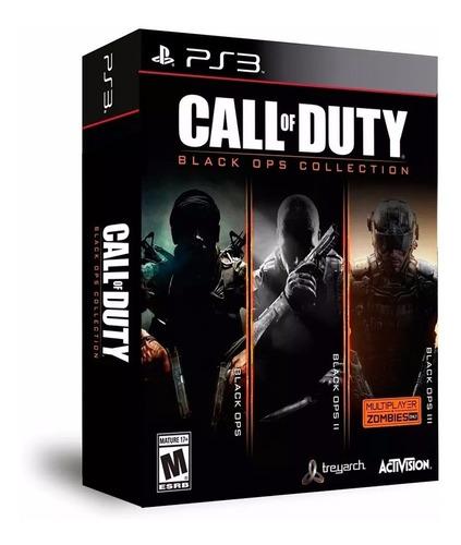 call of duty black ops collection ps3  físico envío grátis.