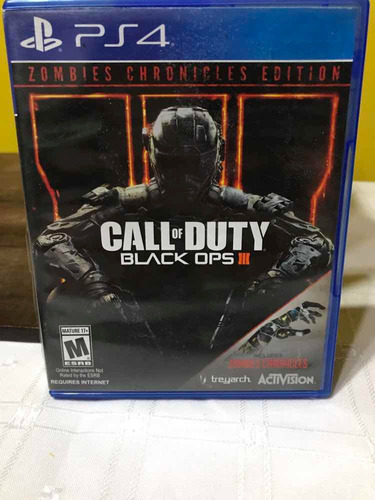 call of duty: black ops iii zombies chronicles fisico