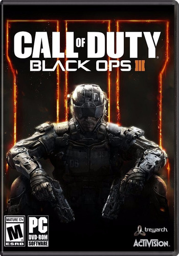call of duty black ops ill 3 - pc - nuevo y sellado