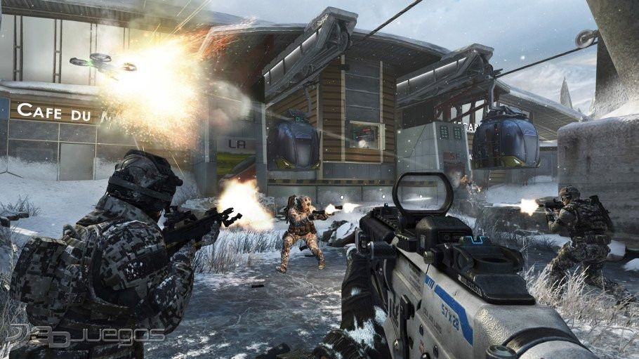 Call Of Duty Black Ops2 + Revolution + Nuketown Zombies Ps3 ...