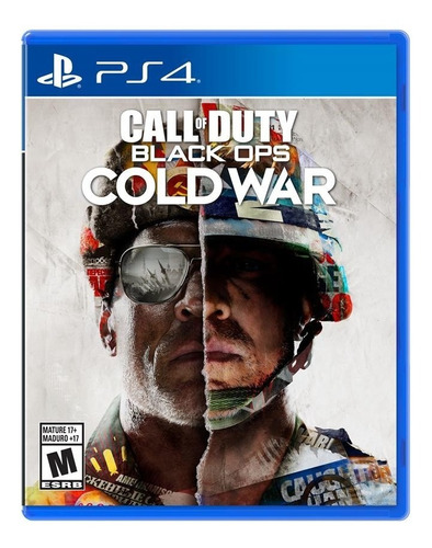 call of duty blackopps cold war ps4 play station 4 fisico