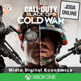 Call Of Duty: Cold War - Xbox One - Mídia Digital + Brinde