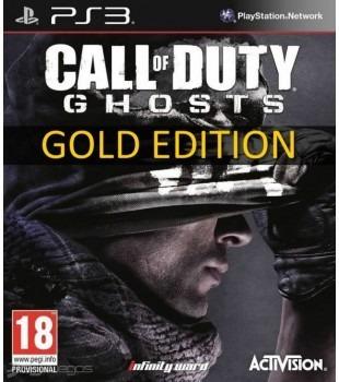 call of duty ghost ed. dorada ps3 digital latino original ya