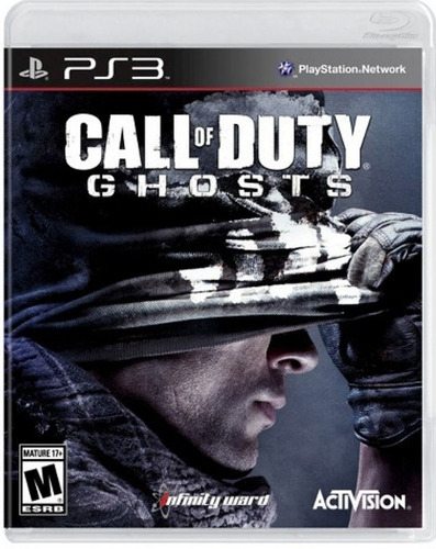 call of duty ghost ps3 fisico original sellado jazz pc