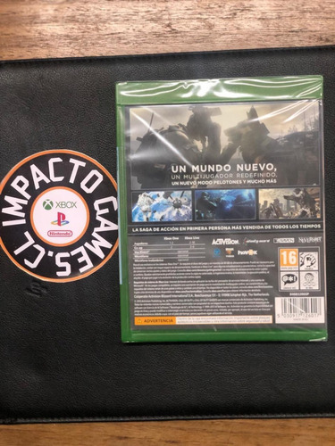 call of duty ghost xbox one (sellado) impacto games envios