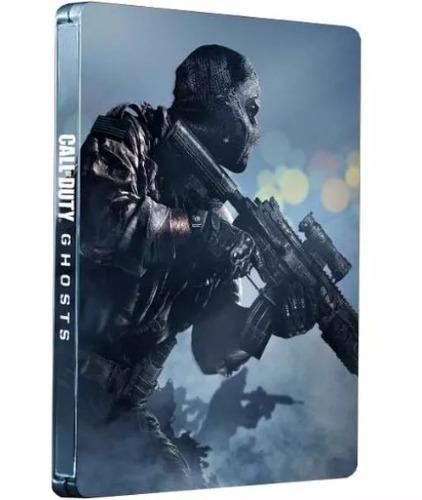 call of duty ghosts capa aço ps3 lacrado!!!