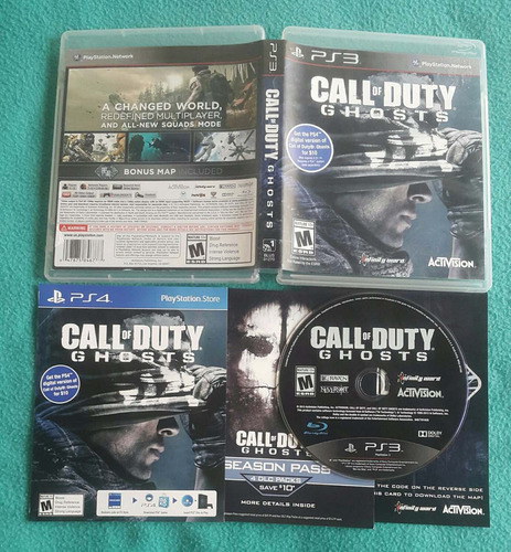 call of duty - ghosts - fisico / playstation 3 ps3